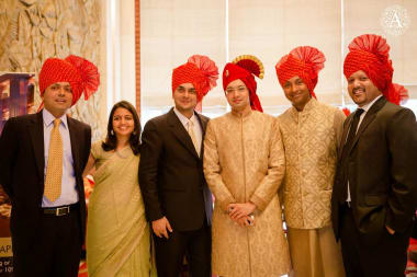 A Group Photograph With Groom
