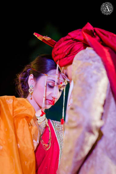 Candid Clicks Of Bride And Groom