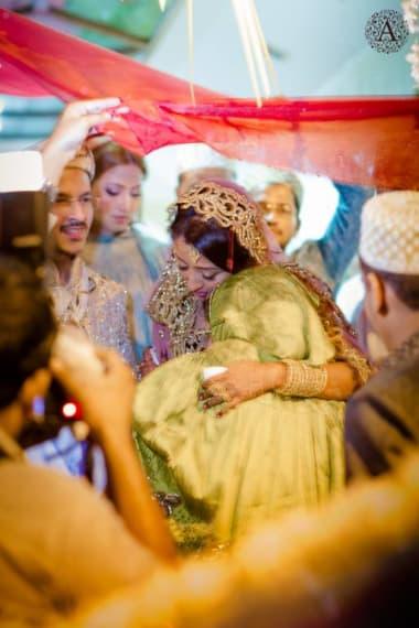 Brides Bidaai Ceremony