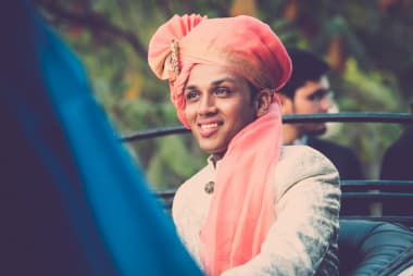 The Groom Abhishek!