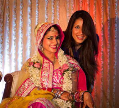 Wedding Clicks With Bride