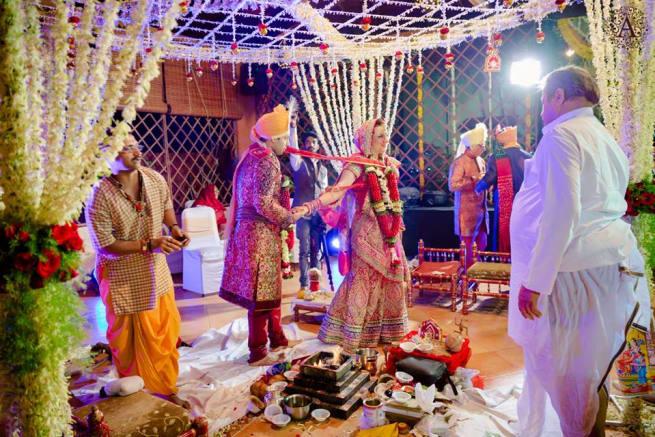 Elizabeth Weds Kshitiz By Ammour Affair Wedding Rituals