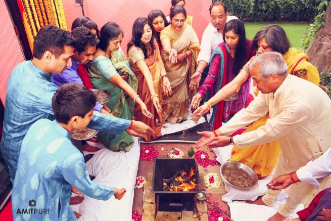 Wedding Ritual Clicks