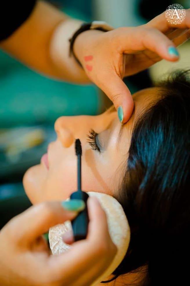 Eye Makeup With Mascara