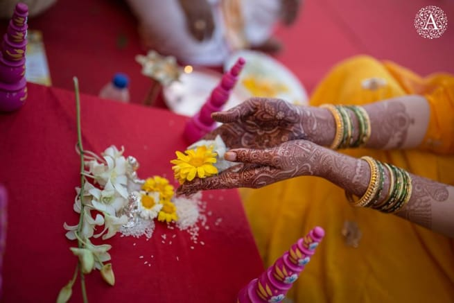 Rituals Performed By Bride And Groom