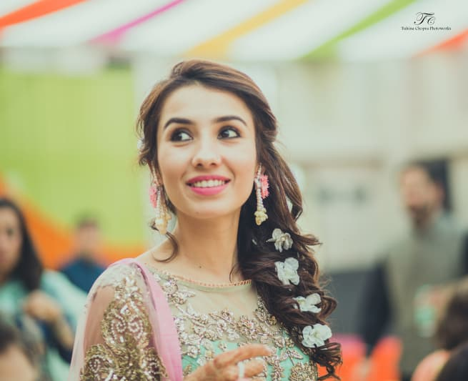 Bride And Sangeet