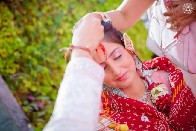Wedding Ritual Sindoor Ceremony