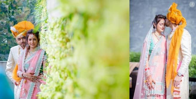 Photoshoot Of Wedding Couple