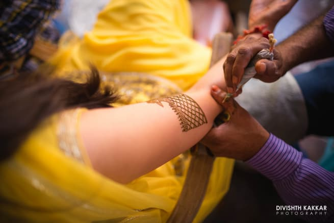 The Bridal Mehandi!
