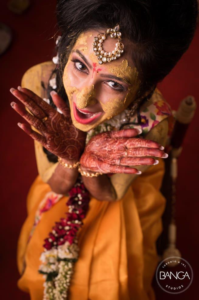 The Bride Komal!