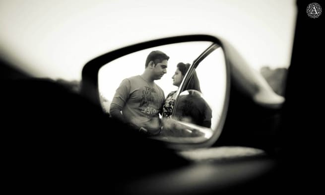 Mirror Image Of Couple