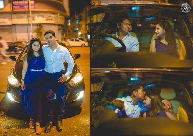Clicks On Street In Night