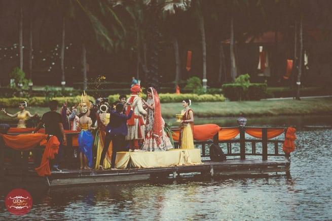 Garland Ceremony