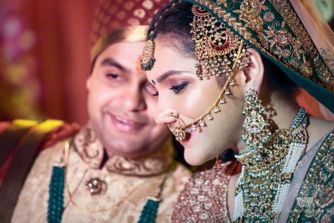 Beautiful Wedding Couple Click
