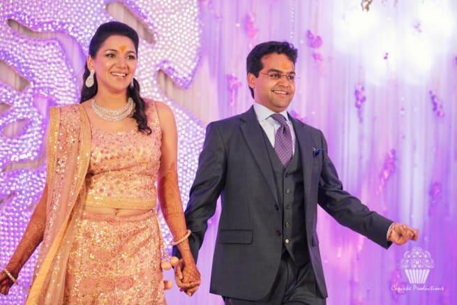 Couple Dance In Sangeet