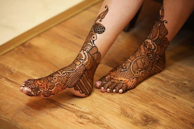 Foot Mehendi