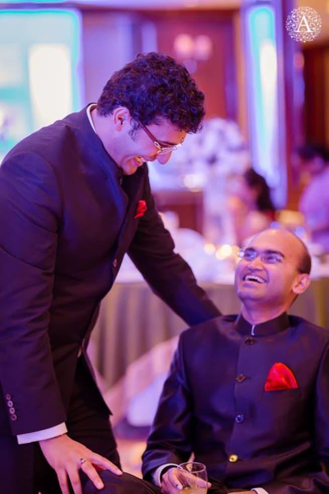 Relatives In Sangeet
