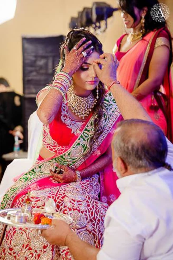 Wedding Rituals With Bride
