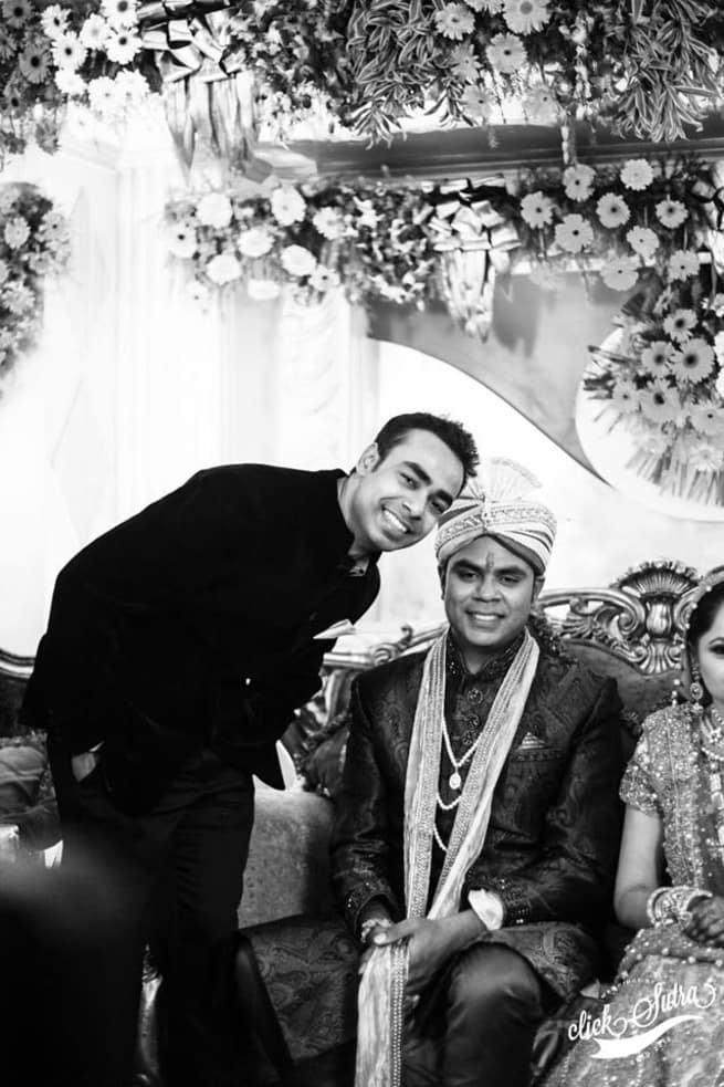 Clicks With Groom