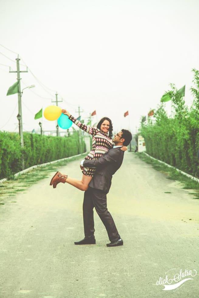 Pre Wedding Loveable Clicks