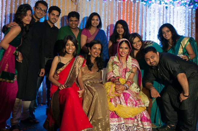 Wedding Clicks With Friends And Relatives