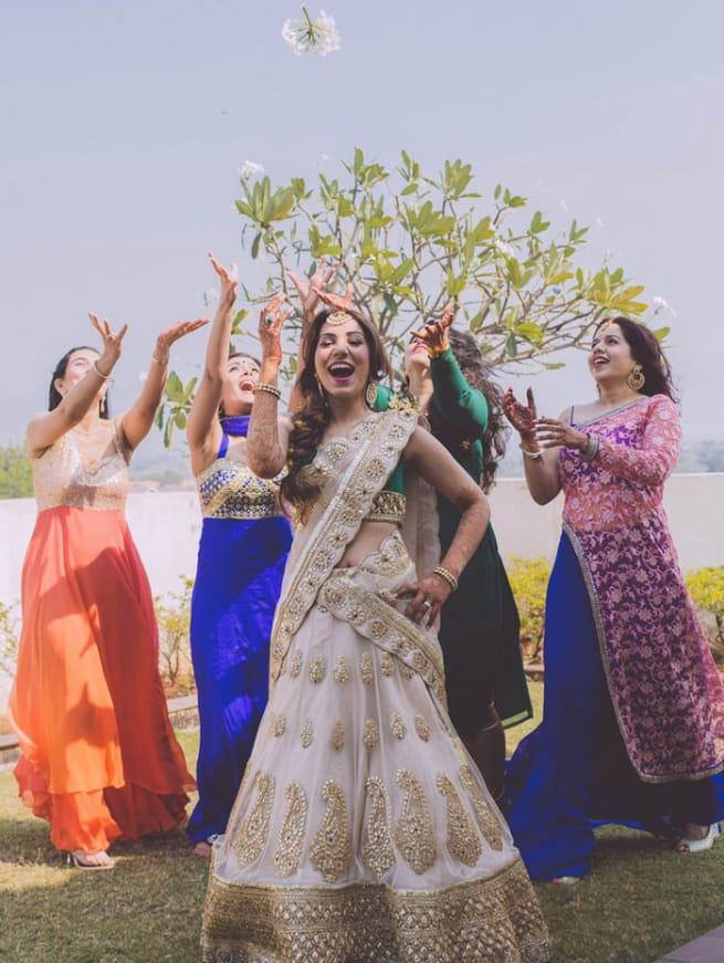 Group Dance In Sangeet