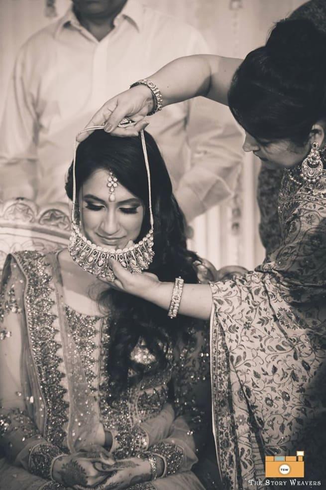 Wedding Ritual With Bride