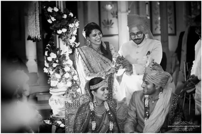 Clicks With Wedding Couple