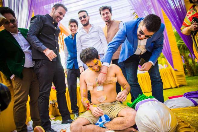 Wedding Ritual Haldi