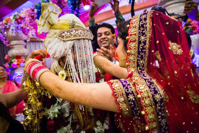 Wedding Ritual Jai Mala