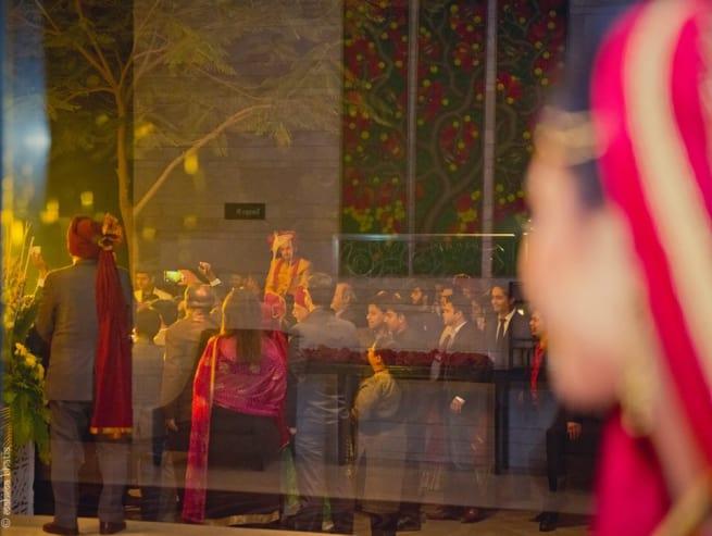 Bride Watching People