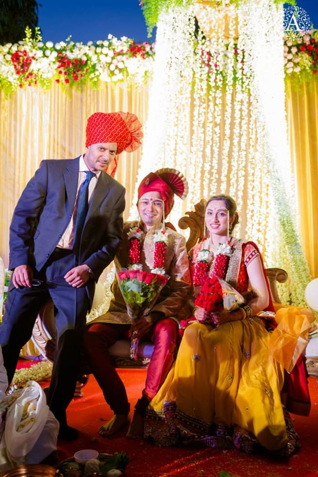 Click With Wedding Couple