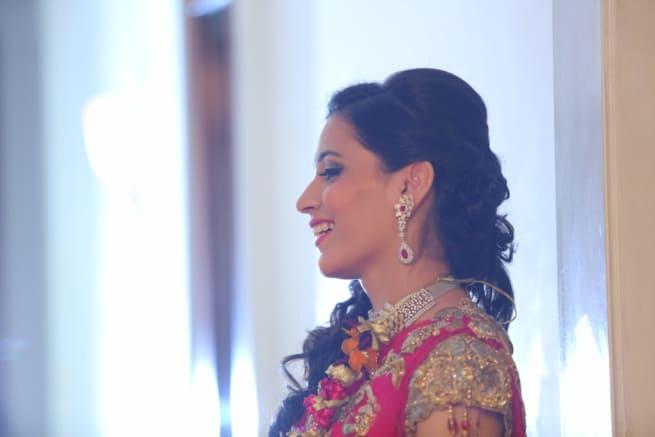 The Bride Anuradha!