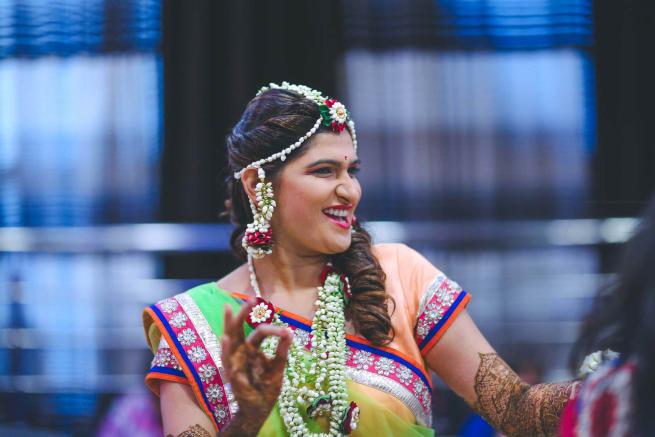 The Bride Malvika!