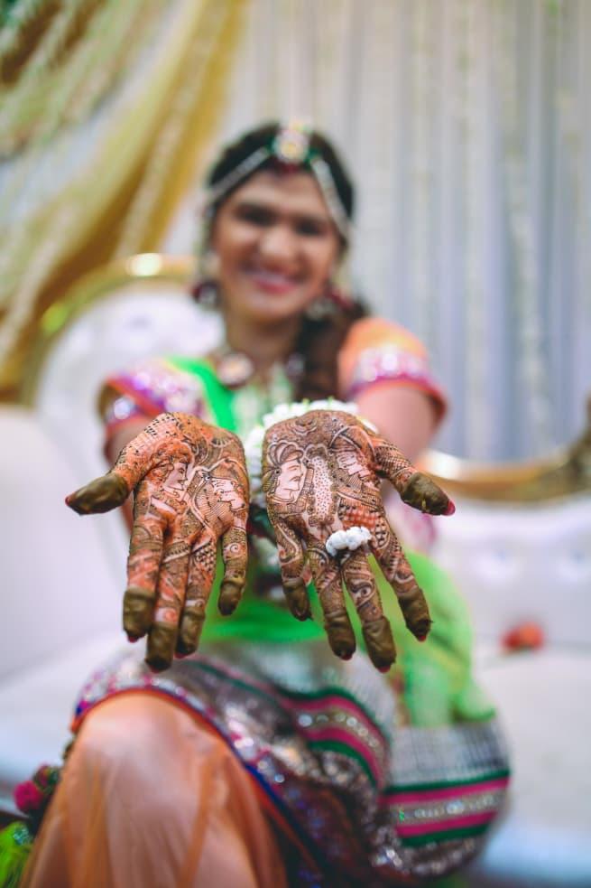 Beautiful Bridal Mehandi!
