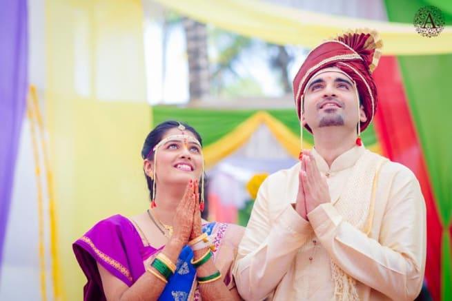 Beautiful Praying Couple
