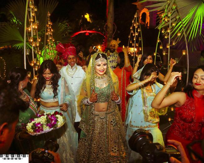 The Bride Apurva!