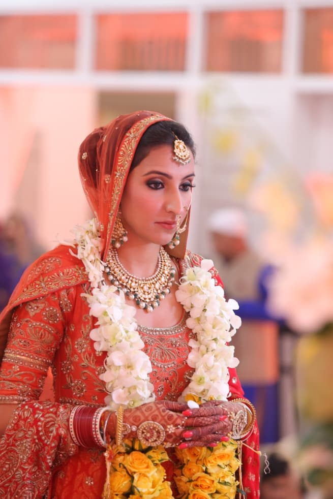The Mesmerizing Bride!