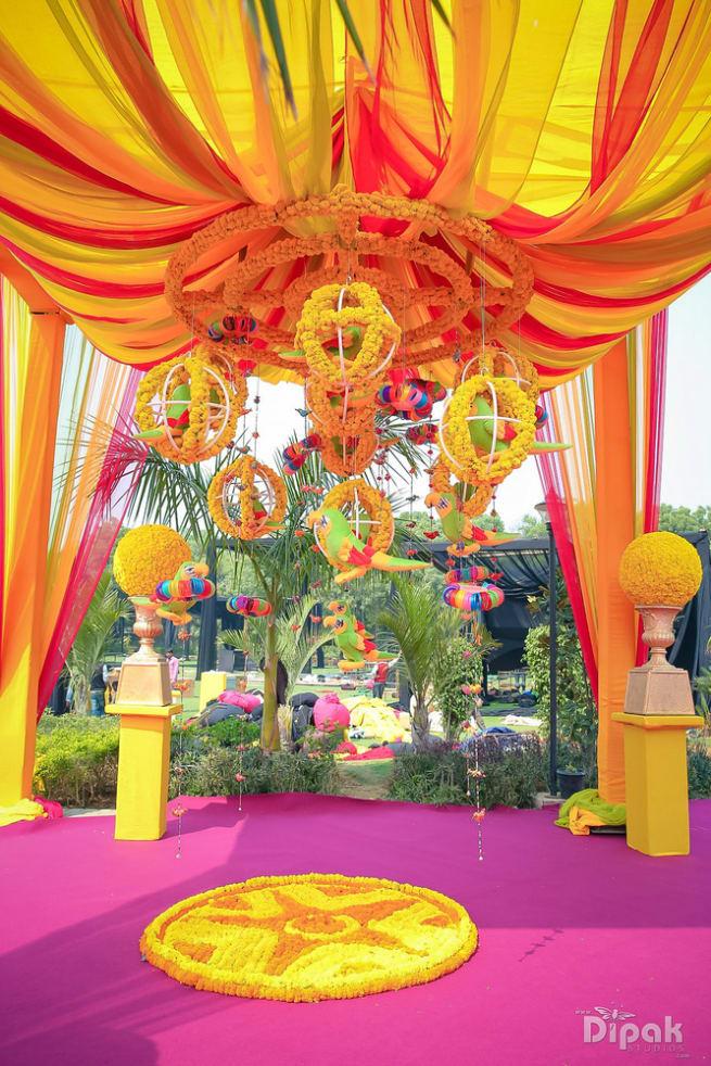 The Wedding Decoration Ideas!