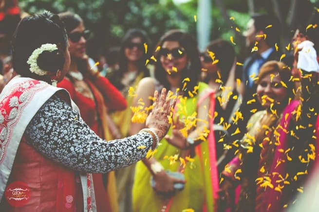 Masti In Baraat Ceremony
