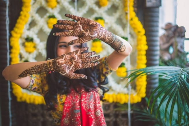 The Bridal Mehandi!