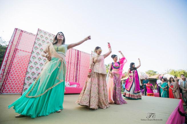 The Sangeet Ceremony!