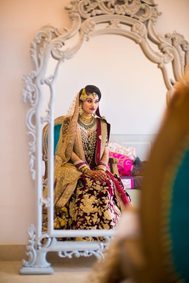 The Mesmerizing Bride!