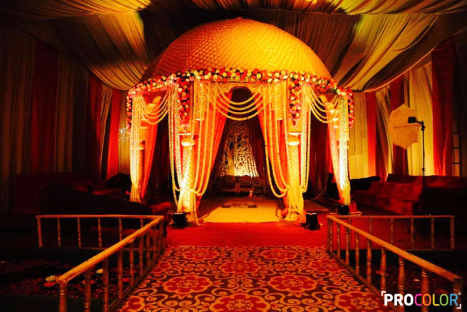 The Mandap Decor!