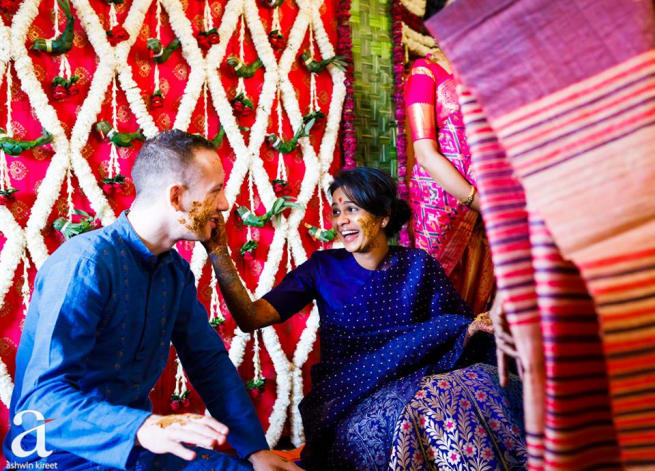 The Haldi Ceremony!
