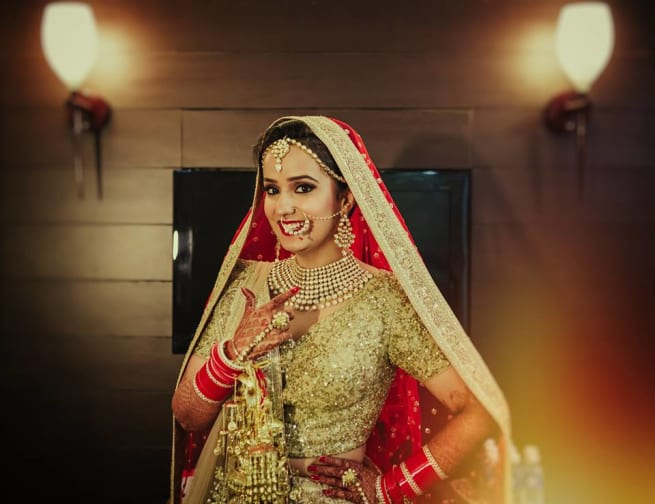 The Stunning Bride!