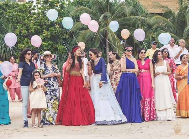 The Glamourous Wedding!