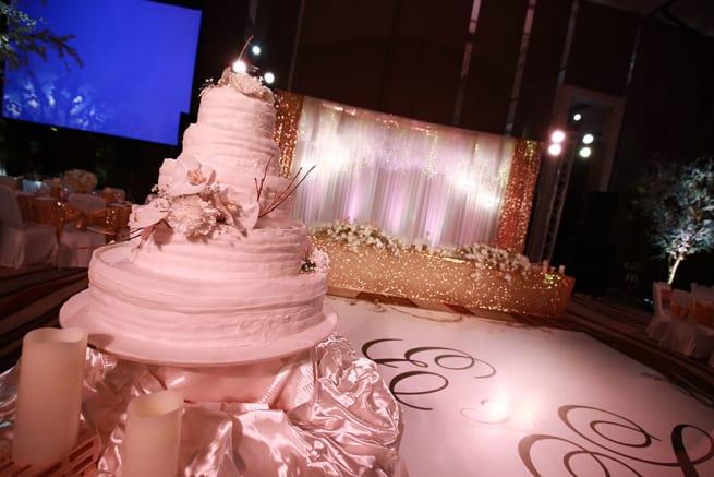 The Wedding Reception!