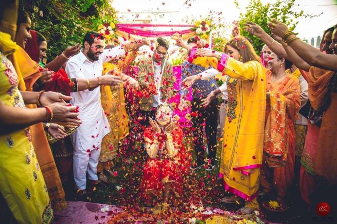 The Bride Haldi!