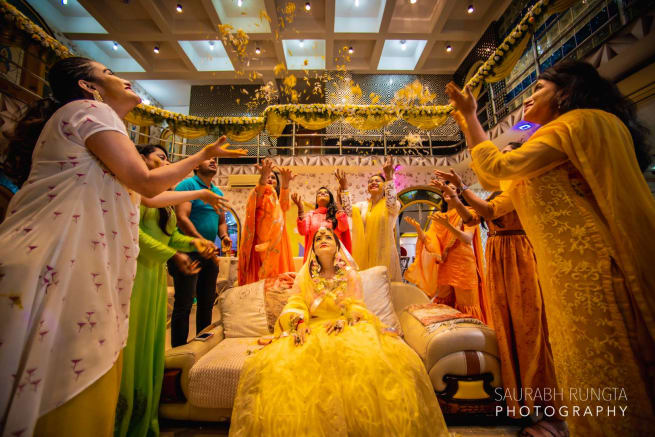 Bride Haldi Ceremony